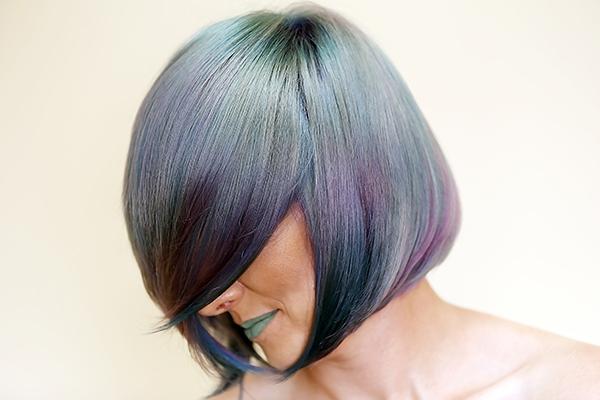 Multicolor hajfestés