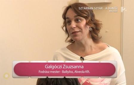 Galgóczi Zsuzsanna televíziós szereplései
