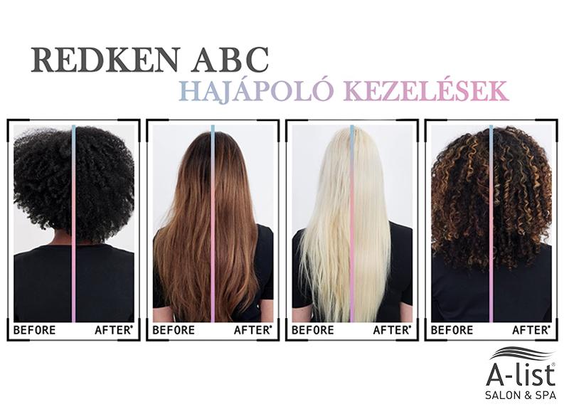 Redken ABC hajápoló kezelések