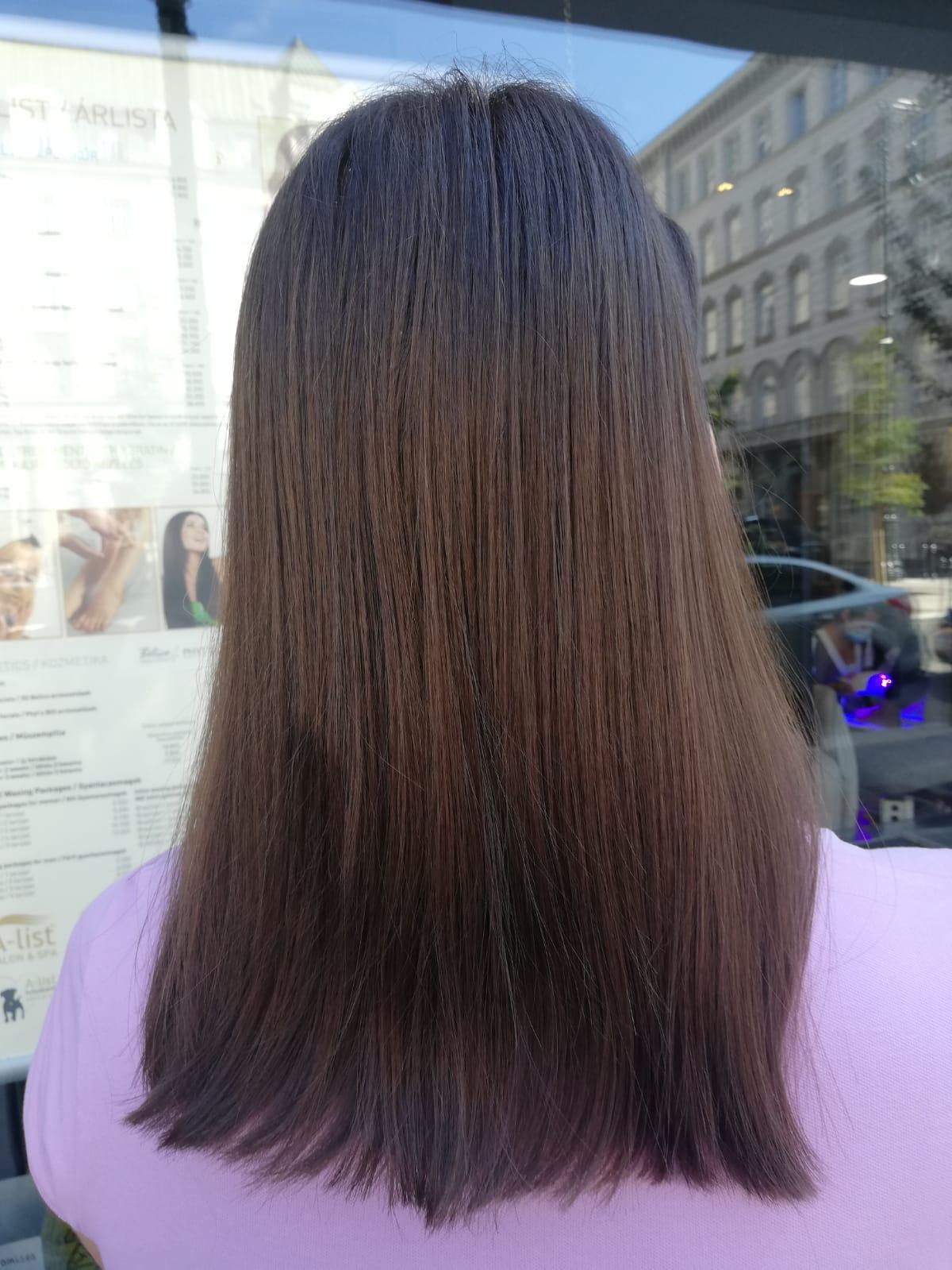 Teljes hajhossz festés